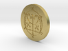 Haures Coin 3d printed