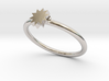 P O W E R  Slim Ring - Star 3d printed