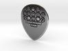 Luck Rising 1mm Raw PICK Guitar 3d printed