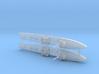 1/1800th scale 2 x Strela soviet AA ship 3d printed