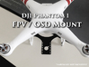 DJI Phantom 1 - FPV / OSD Mount 3d printed