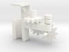 Apache fleet tug, gearbox for radar 3d printed