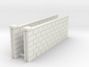5' Block Wall - 2-Long Jointed Sections 3d printed Part # BWJ-001
