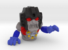 """Screamer"" 1"" Ghost, Color Sandstone 3d printed"