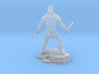 Conan 1/60 miniature for fantasy & rpg games 3d printed