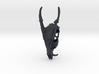 Muntjac Skull Pendant 3d printed