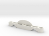 HO Scale 2 1-2 inch Track Spacer 3d printed This is a render not a picture
