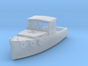 HO Scale Lobster Boat 3d printed This is a render not a picture