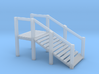 N Scale Cattle Ramp 3d printed This is a render not a picture