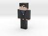 DAVER_BLUE | Minecraft toy 3d printed