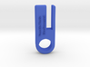 Versatile Plastic Blue Processed Material Sample 3d printed