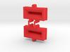 ZOOM H6 Capsule chip protector - sprued 3d printed