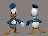 Angry Duck 3d printed Painted Zbrush Render