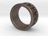 Groove Ring Band 10mm 3d printed