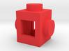 Custom LEGO-inspired brick 1x1 3d printed