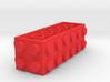 Custom LEGO-inspired brick 6x2x2 3d printed