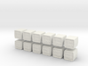 1:144 scale HESCO Barrier set of 12 3d printed