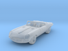 Jaguar Type E  1:87 HO 3d printed