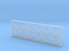 12 Stück Helmhalter Typ-B in 1:50 3d printed