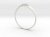 Succulent Ring 3d printed