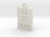 Al Periodic Pendant 3d printed