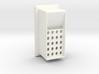 Carbon floater for EM grids 3d printed