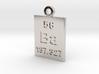 Ba Periodic Pendant 3d printed