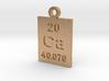 Ca Periodic Pendant 3d printed