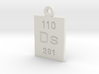 Ds Periodic Pendant 3d printed