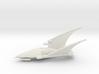 Eldar Craftworld - Concept Ship 1 3d printed