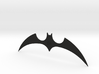 """The New Batman Adventures"" - Batarang Replica 3d printed Black Premium Plastic"