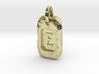 Old Gold Nugget Pendant E 3d printed