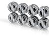 Assassyn 8-6 Hot Wheels Rims 3d printed