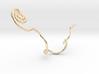 orecchino_serpente 3d printed