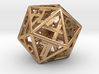 BETA D20 Balanced - Numbers Only, Small (Hearts) 3d printed