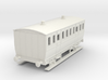 0-87-mgwr-4w-3rd-class-coach 3d printed