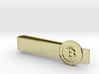Bitcoin Coin Tie Bar 3d printed