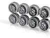 TISBM 11-3 Hot Wheels Truck Rims 3d printed
