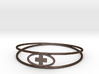 Round Plus Bracelet 3d printed