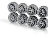 7KCirc 9 Hot Wheels Rims 3d printed