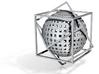 Sphere dans un double Cube 3d printed