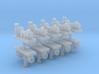 Zentrifugalpumpe  neuere Bauart 10erSet - TT 1:120 3d printed