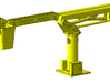 1/64th telescoping bucket lift for service trucks 3d printed