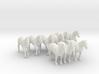 'Draft' Horse Set 3d printed