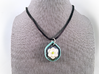 Magnolia Pendant 3d printed Does not include cord or fastenings.