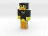 DuckKnightOfMc | Minecraft toy 3d printed