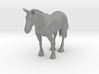 HO Scale Clydesdale Horse 3d printed This is a render not a picture