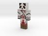 GoatUnicorn69 | Minecraft toy 3d printed