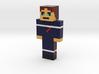 pompier | Minecraft toy 3d printed