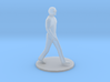 S Scale Man Walking 3d printed This is a render not a picture